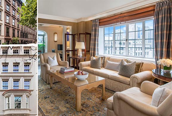 Clockwise: 132 East 62nd Street, 46 East 82nd Street #TH and 28 East 63rd Street #17AB and