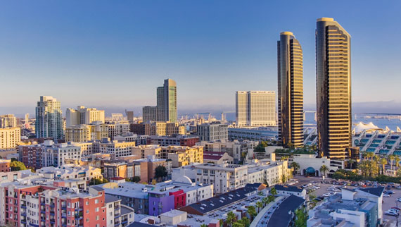 San Diego's downtown is experiencing a major revitalization.