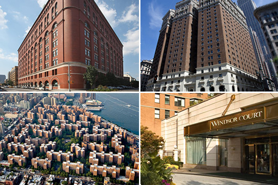 biggest apartment buildings nyc property taxes nyc