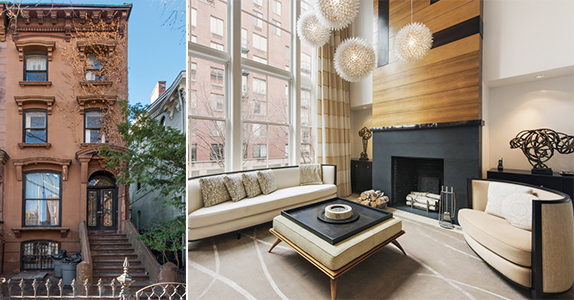 Nyc townhouse market douglas elliman for Townhouse for sale manhattan