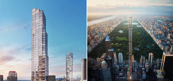 El-Gamal's 45 Park Place and the JDS-developed 111 West 57th