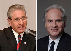 Assembly members Jim Tedisco and Howard Zemsky