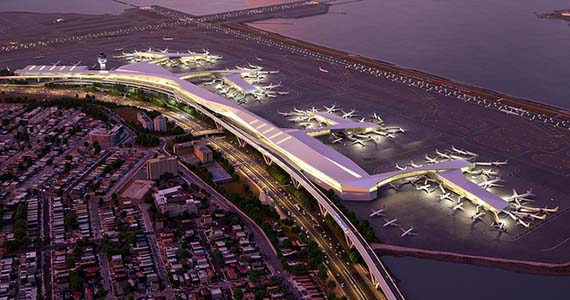 Rendering of LaGuardia Airport