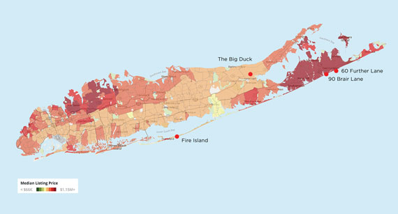 Long Island Home Prices Fire Island Real Estate East End