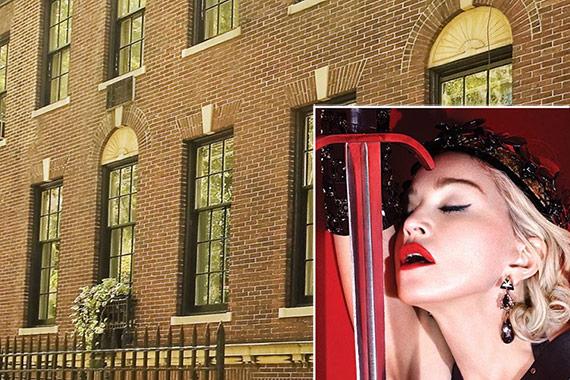 Madonna Upper East Side Mansion 152 156 East 81st Street