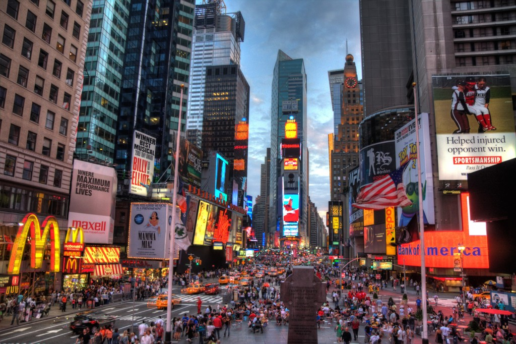 Times Square (Credit: Wikimedia Commons)