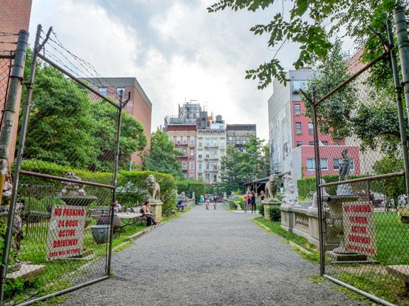 the Elizabeth Street Garden