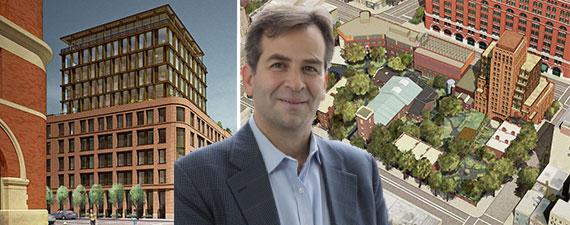 Paul Wolf and renderings of 100 Barrow Street
