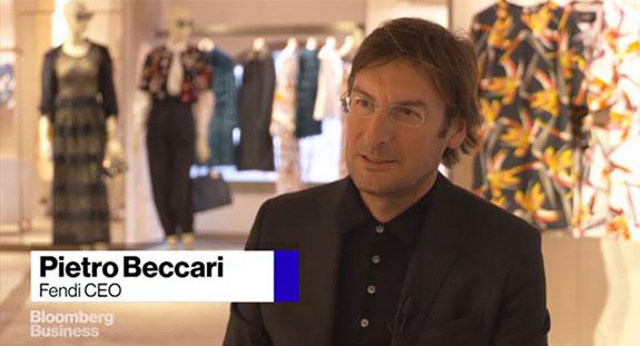 Fendi CEO Pietro Beccari