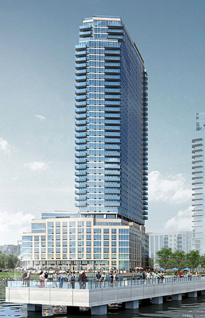 A rendering of 2 North 6th Place