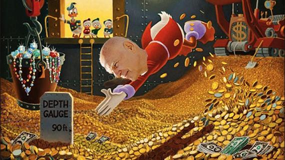 Steven Roth as Scrooge McDuck