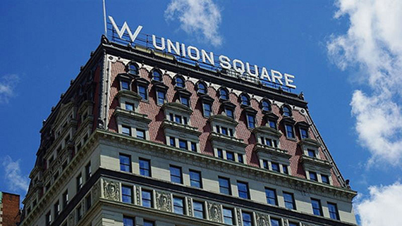 The W Hotel Union Square is one of Starwood's New York City hotels