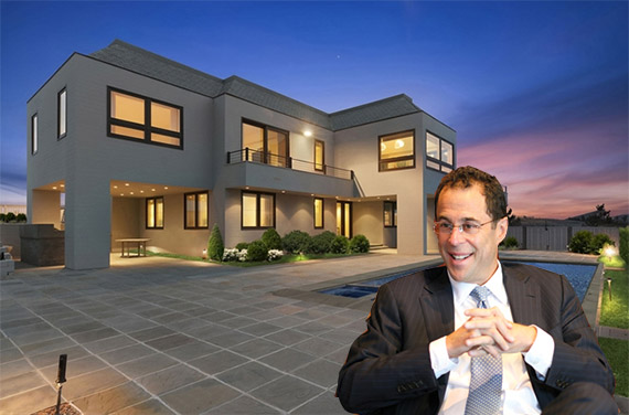 Jeff Blau and his Bridgehampton mansion at 313 Dune Road