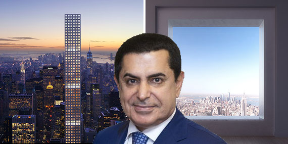 Nassir Abdulaziz Al-Nasser and renderings of 432 Park Avenue