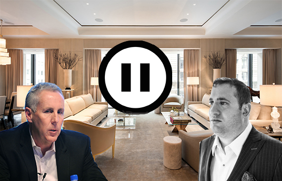 Kevin Maloney, Michael Stern and the sales off for 111 West 57th Street