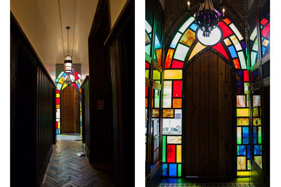 through-the-stained-glass-entrance