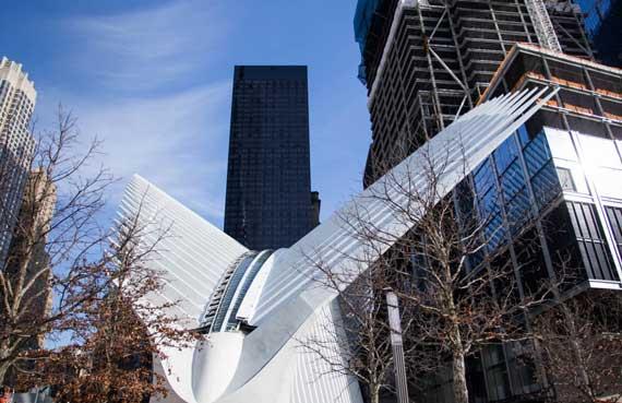 World Trade Center Transportation Hub (Credit: Business Insider)