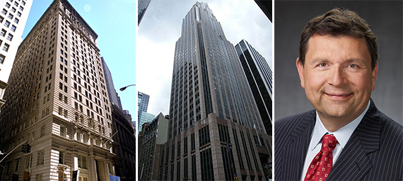 The Exchange at 25 Broad Street, the Americas Tower at 1177 Sixth Avenue and Calstrs' Jack Ehnes