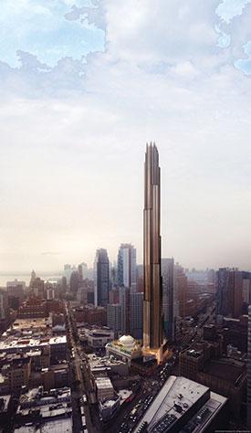 A rendering of 340 Flatbush Avenue