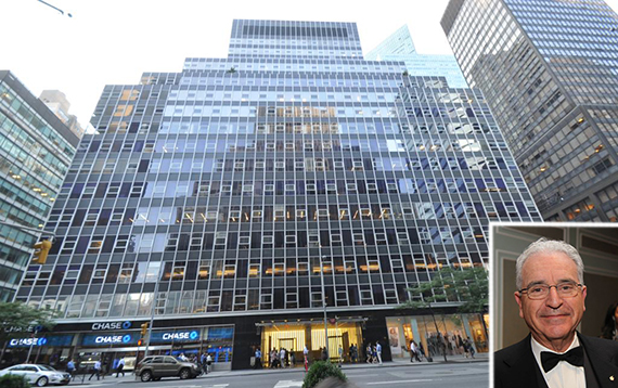 850 Third Avenue in Midtown (inset: Norman Sturner)