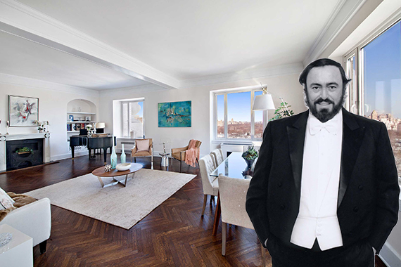 Luciano Pavarotti | Hampshire House NYC