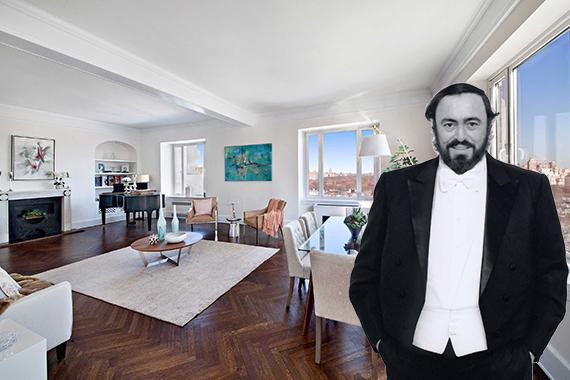 hampshire house pavarotti biography