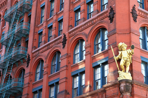 The Puck Building in Soho