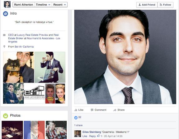 """A screenshot of Facebook page. A commenter has written """"Coachella — Weekend 1"""""""