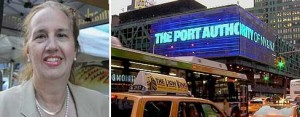 Gale Brewer and the Port Authority's bus terminal