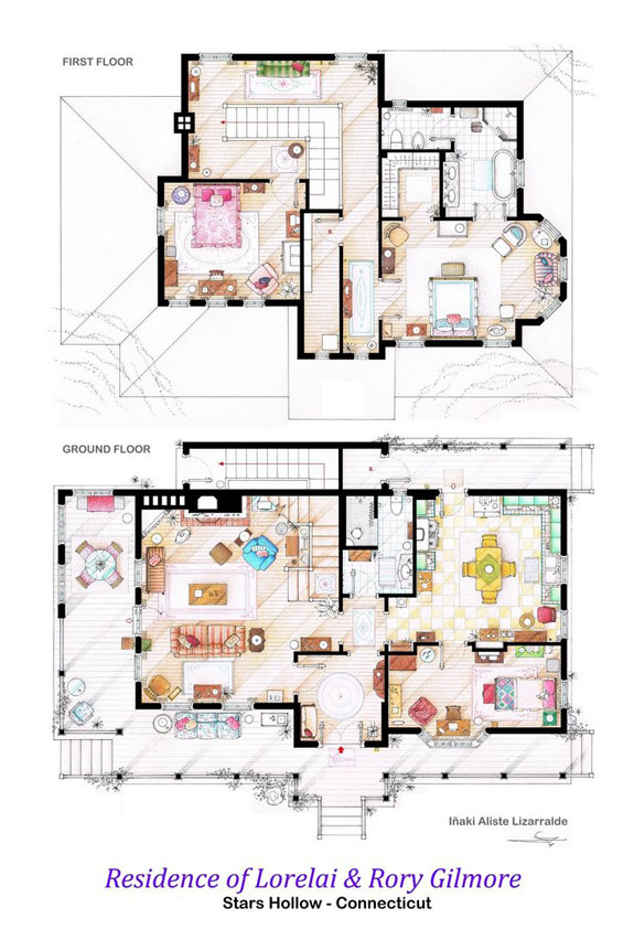 house_of_lorelai_and_rory_gilmore___floorplans_by_nikneuk-d5to28r.