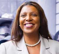 Pubic Advocate Letitia James