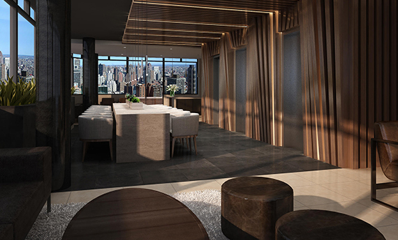 A rendering of the interior of 1735 York Avenue
