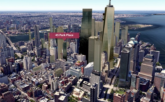 A visualization of the &quot;new Downtown&quot; skyline with <a class=