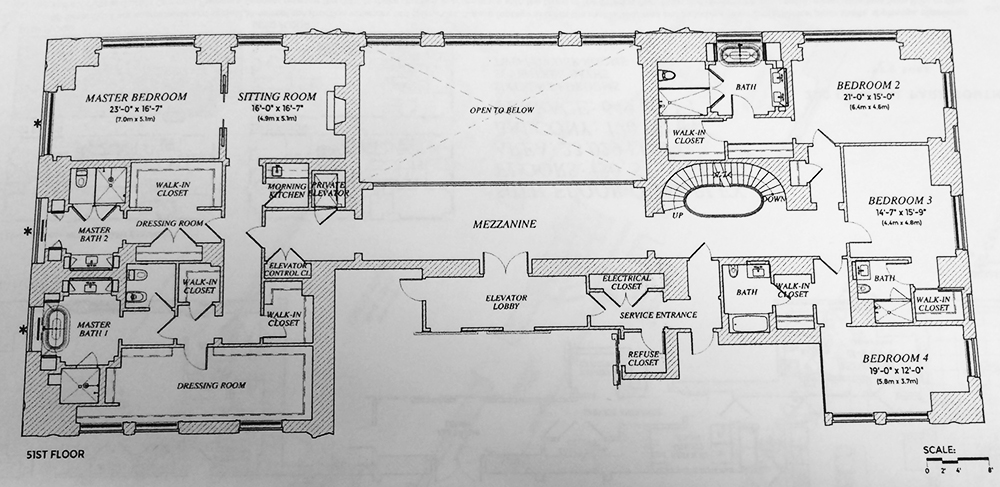 Million Dollar Home Floor Plans