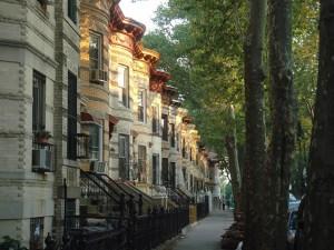 Bushwick row houses