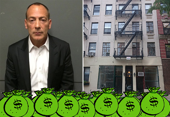 From left: Steven Croman and 380 East 10th Street in the East Village