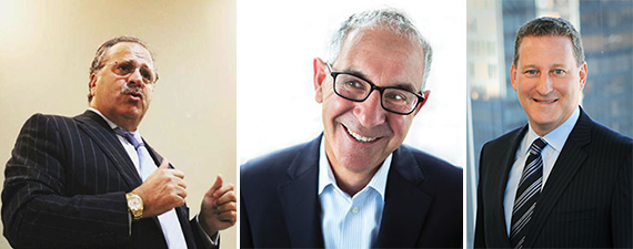 Joseph Chetrit, L+M's Ron Moelis and Kenneth Horn