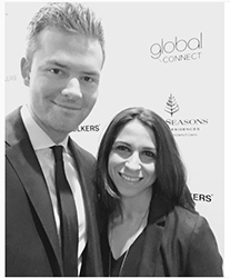 From left: Ryan Serhant and Katherine Salyi (credit: Instagram)