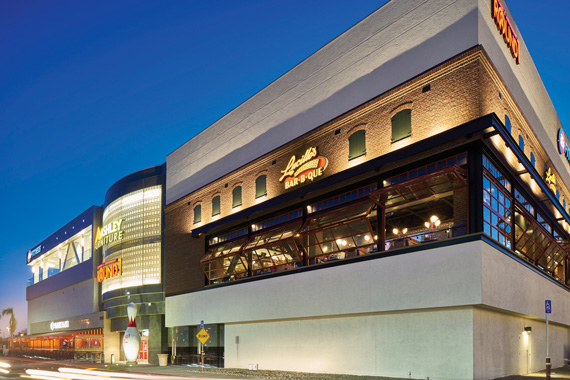MainPlace Mall in Santa Ana hosts dozens of restaurants, a bowling alley and a 24-hour fitness center.