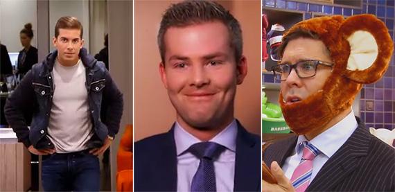Luis D. Ortiz, Ryan Serhant and Fredrik Eklund