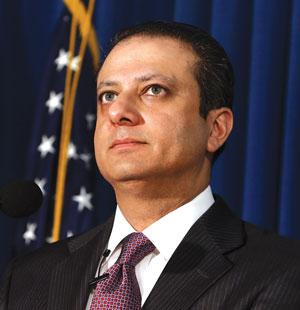 U.S. Attorney Preet Bharara