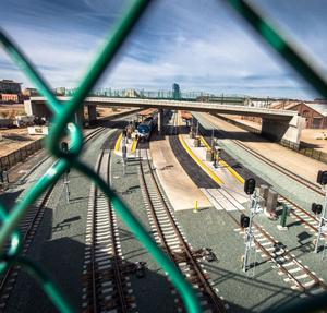 Development at the old Railyards in Sacramento