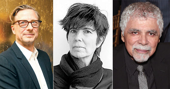 From left: Ricardo Scofidio, Elizabeth Diller and Charles Renfro