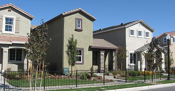 Model homes in Sacramento, California