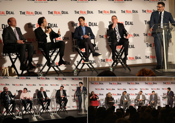 Panel discussions at The Real Deal's New York Real Estate Showcase and Forum