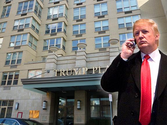 Trump Plaza in Jersey City