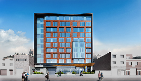 Rendering of 38-42 11th Street (credit: think! Architecture and Design and Architectural ID)