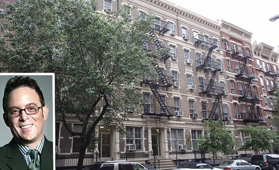 112 to 120 East 11th Street in the East Village (inset: David Lichtenstein)