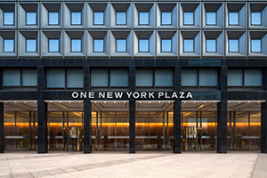 1 New York Plaza in the Financial District