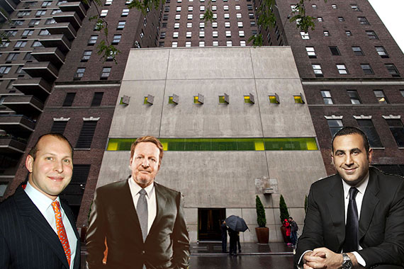 Hudson Hotel (inset: Jason Kalisman, Ron Burkle and Sam Nazarian)